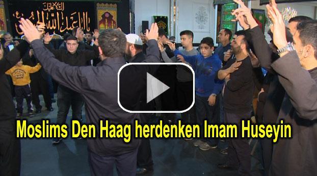 Moslims Den Haag herdenken Imam Huseyin