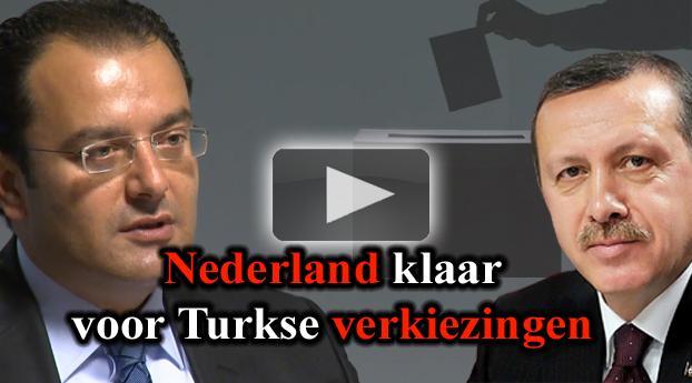 Nederland klaar voor Turkse verkiezingen