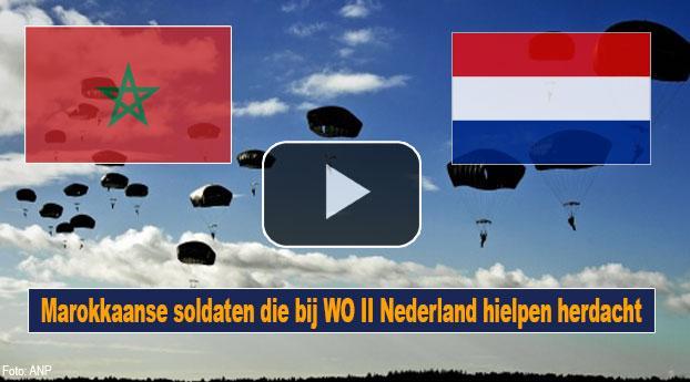 Marokkaanse soldaten die bij WO II Nederland hielpen herdacht