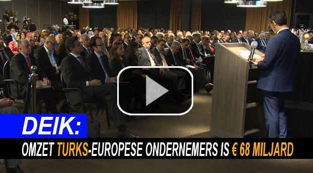 Omzet Turkse ondernemers Europa is 68 miljard euro