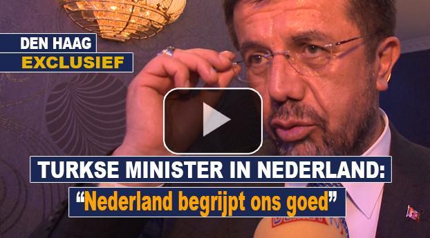 """Turkse minister in Nederland: """"Nederland begrijpt ons goed"""""""