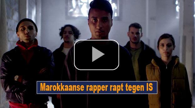 Marokkaanse rapper rapt tegen IS