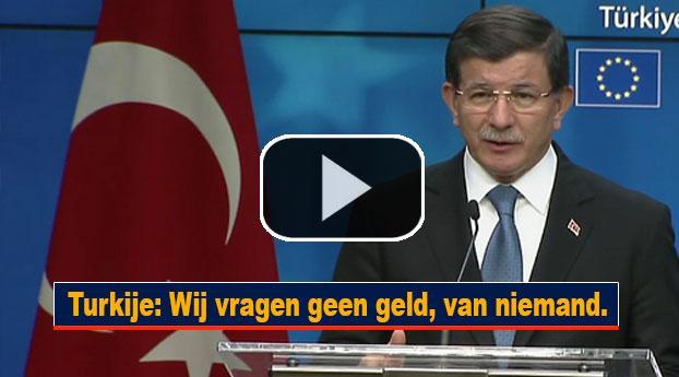 Turkije: Wij vragen geen geld, van niemand.