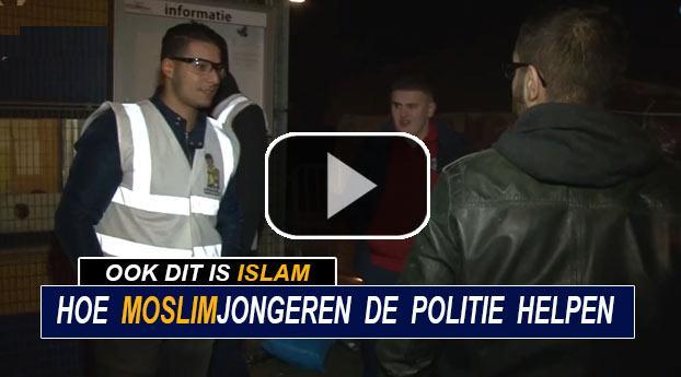Hoe moslimjongeren de politie helpen