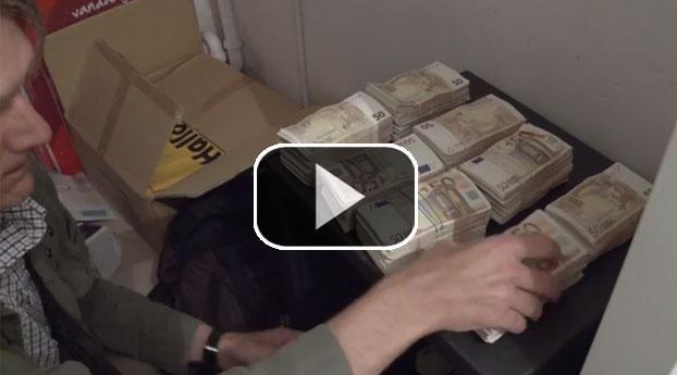 Zeven miljoen afgenomen van illegale bankiers
