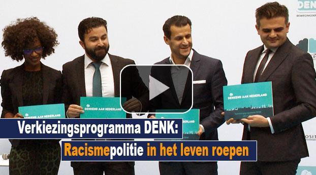 Verkiezingsprogramma DENK: racismepolitie in het leven roepen