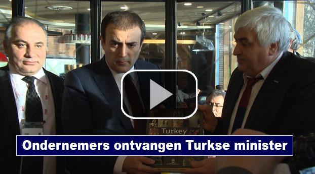 Ondernemers ontbijten met Turkse minister