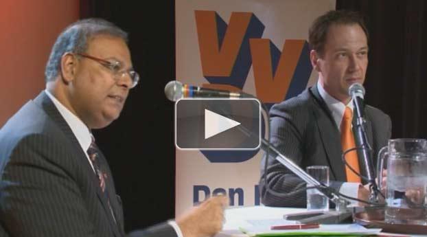 Lijsttrekkersdebat PvdA en VVD