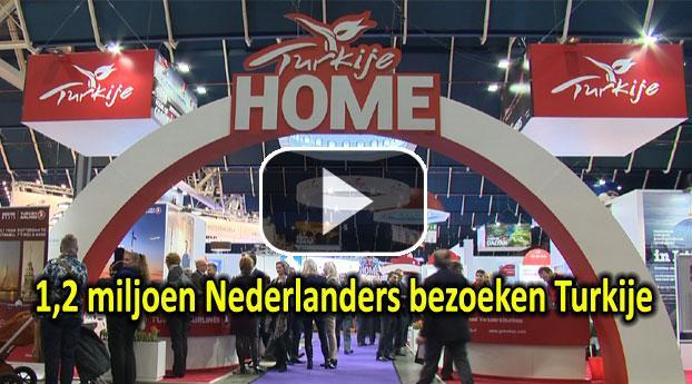 1,2 miljoen Nederlanders bezoeken Turkije