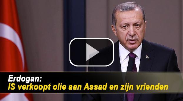 Erdogan: IS verkoopt olie aan Assad en zijn vrienden