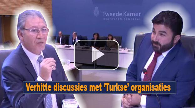 Verhitte discussies met 'Turkse' organisaties