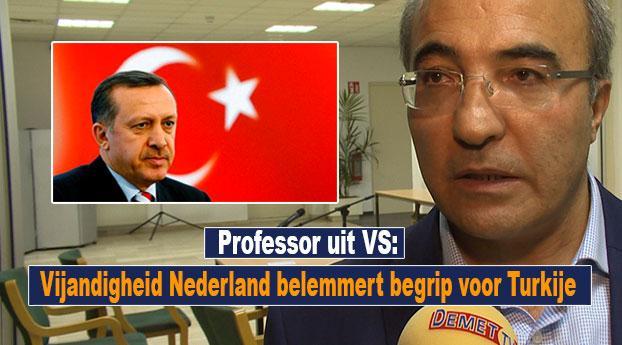 Professor: Vijandigheid Nederland belemmert begrip voor Turkije