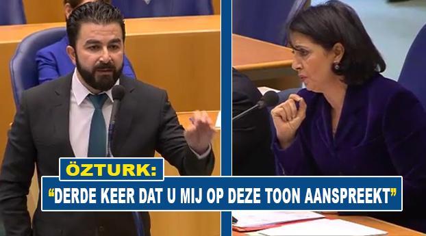 Weer aanvaring tussen Selcuk Ozturk en Khadija Arib