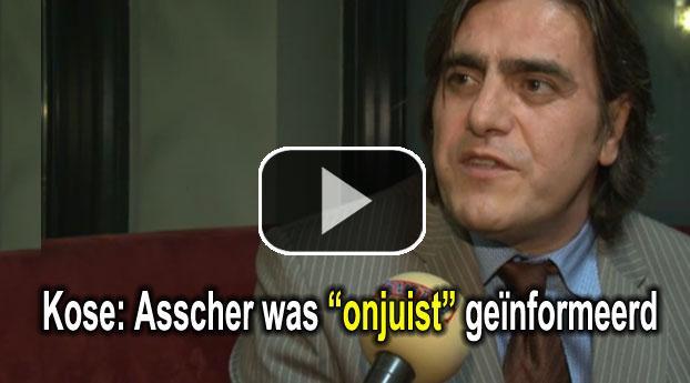 Advocaat: Minister Asscher 'onjuist' geïnformeerd