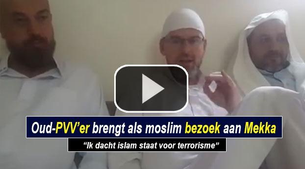 Oud-PVV'er brengt als moslim bezoek aan Mekka