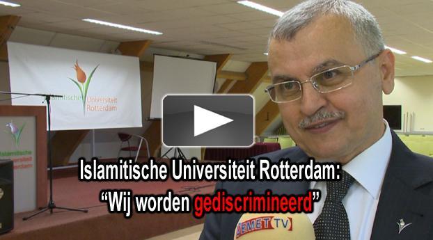 """Islamitische Universiteit Rotterdam: """"Wij worden gediscrimineerd"""""""
