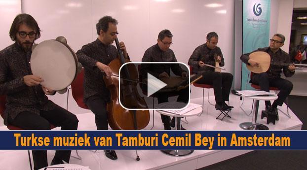 Turkse muziek van Tamburi Cemil Bey in Amsterdam