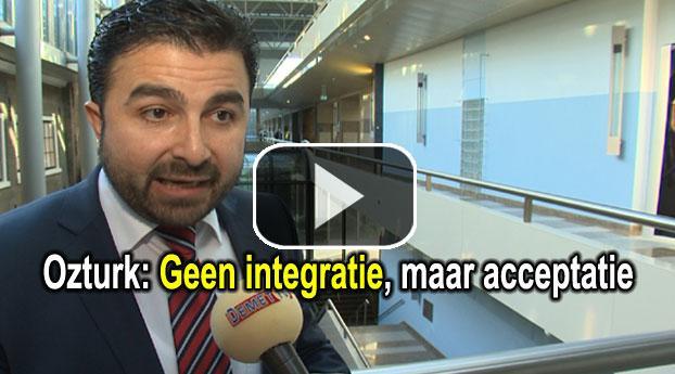 Ozturk: Geen integratie, maar acceptatie