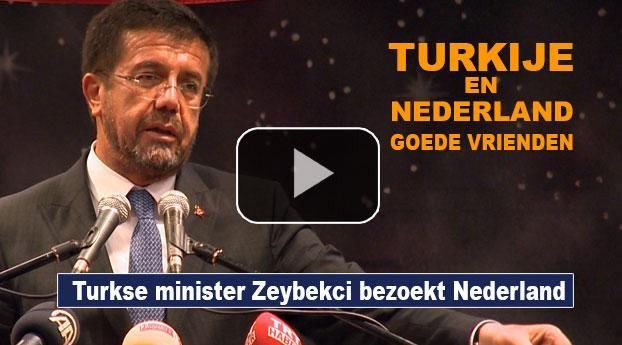 "Turkse minister: ""Turkije en Nederland zijn goede vrienden"""