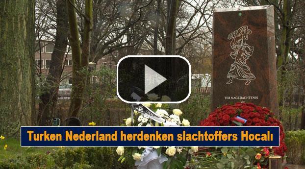 Turken Nederland herdenken slachtoffers Hocali