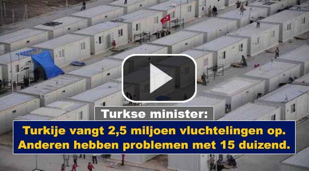 Turkije: Met grote gastvrijheid vangen wij vluchtelingen op