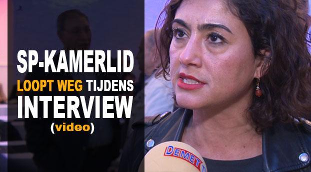 SP-Kamerlid loopt weg tijdens kritisch interview over PKK