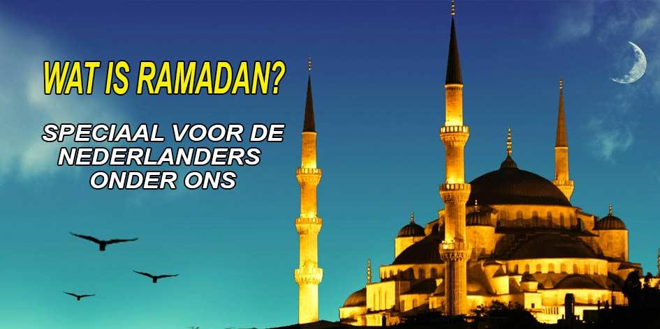 Dit moet je weten over de Ramadan