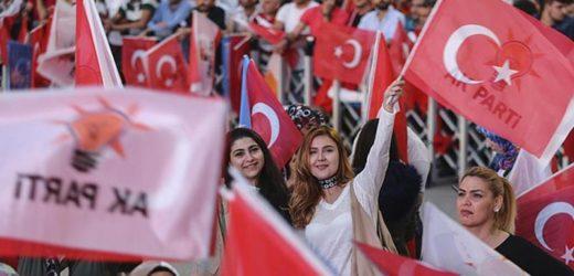 President Erdogan wint verkiezingen