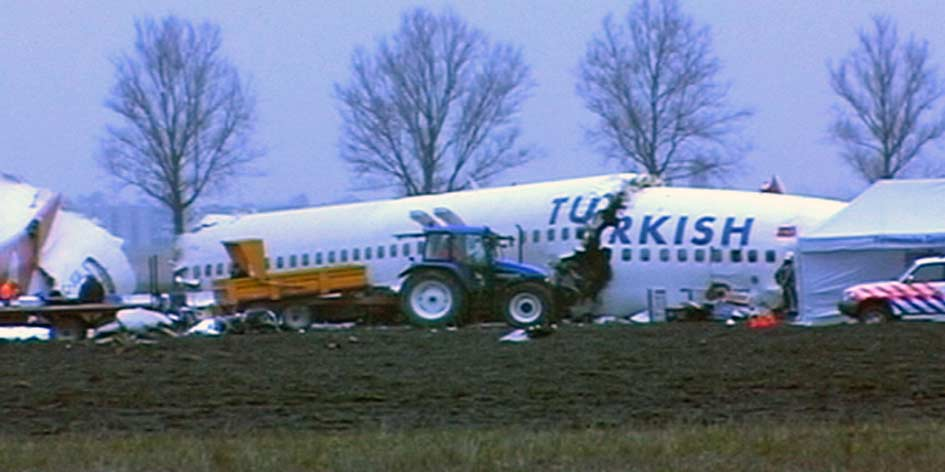 Nederland herdenkt crash Turkish Airlines