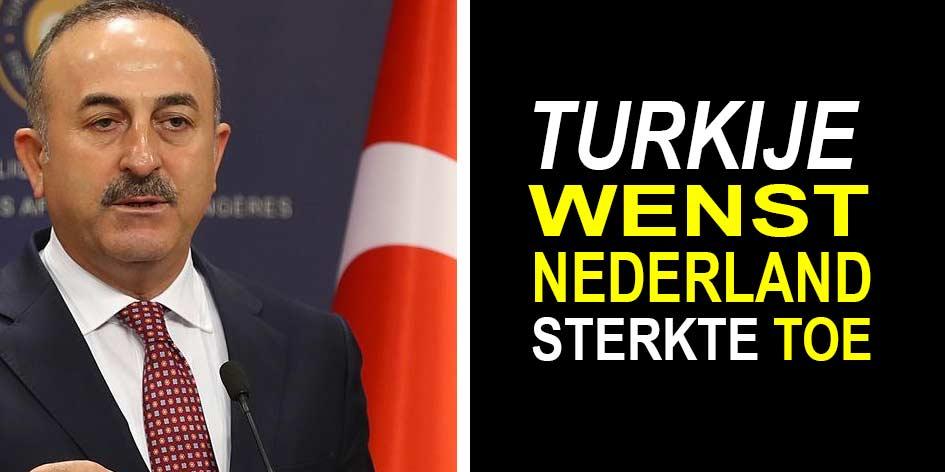 Turkije solidair en wenst sterkte