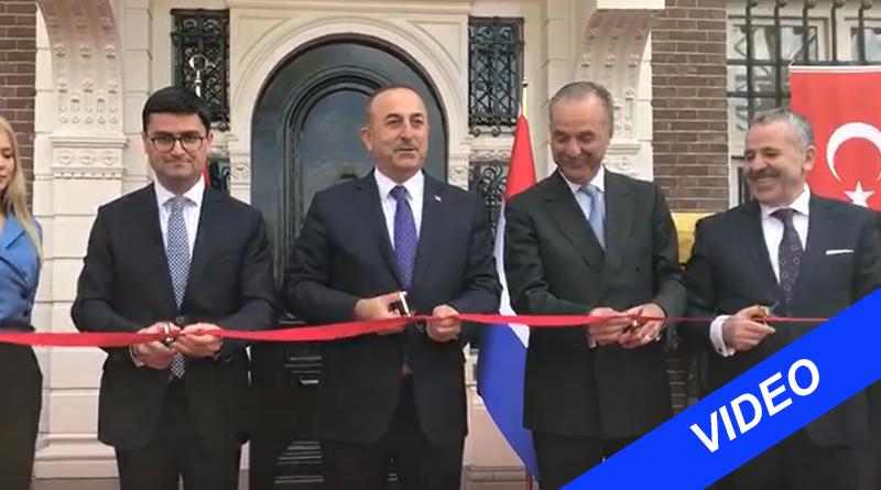 Turkse minister opent Turkse consulaat in Amsterdam