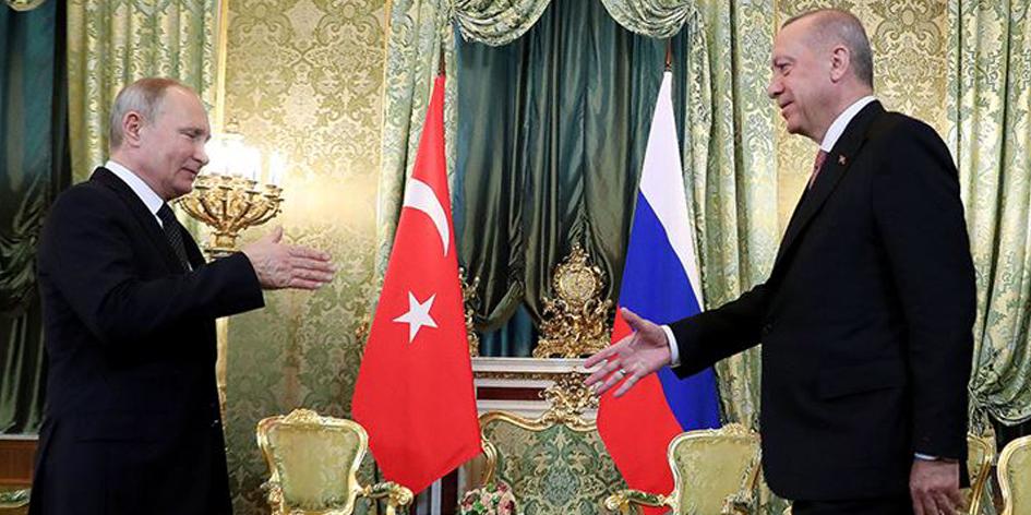 Putin en Erdogan: Handelsrelaties tussen Turkije en Rusland verder intensiveren
